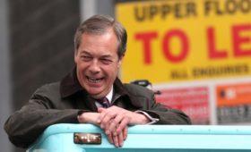 Партия Brexit стала лидером в опросе о европейских выборах в Британии