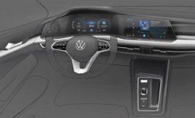 Интерьер нового VW Golf готовит сенсорную революцию