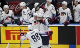Сборная СШАотыграла одну шайбу вматче сРоссией наЧМ-2019