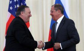 Дипломаты рассказали о закрытой части встречи Лаврова и Помпео