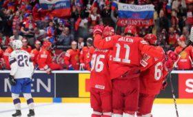 Сборная России похоккею обыграла команду Норвегии впервом матче наЧМ