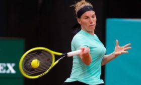 Кузнецова несмогла выйти вовторой круг турнира WTAвНюрнберге