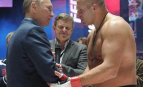 Ф. Емельяненко: впрезиденты пока непланирую, Путин хорошо себя чувствует