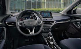 Паркетник Chevrolet Tracker со сменой поколений стал богаче
