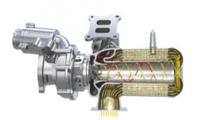 Continental объединил турбокомпрессор и катализатор