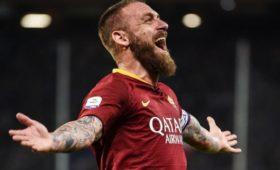 «Рома» объявила обуходе ДеРосси вконце сезона