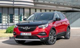 Opel Grandland X стал полноприводным гибридом