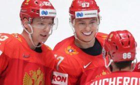 Стал известен состав сборной России похоккею наматч ЧМслатвийцами