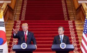 Ким Чен Ын и Трамп проведут встречу в буферной зоне на границе двух Корей