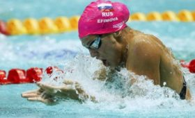 Ефимова иВековищев завоевали золотые медали этапа «Маре Нострум» вБарселоне