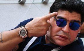 Марадона вспомнил о«руке бога»