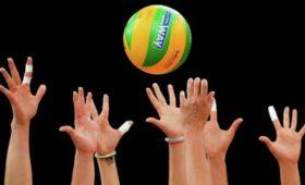 Российские волейболисты обыграли немцев вматче Лиги наций