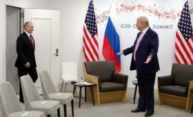 Путин пригласил Трампа на празднование 75-летия Победы