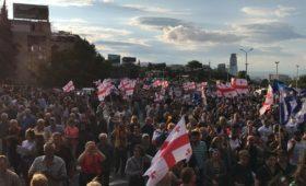 В Грузии выросла численность уверенных в продолжении российской агрессии