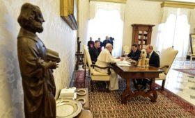 Путин процитировал слова папы римского о Достоевском
