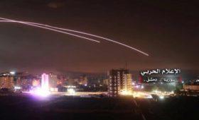 Телевидение Сирии заявило о ракетном обстреле Дамаска