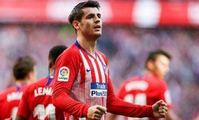 «Атлетико» выкупил права нафутболиста «Челси» Морату