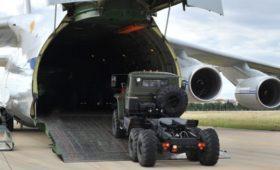 В Турцию из России прибыли еще два самолета с компонентами С-400