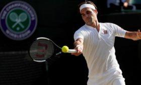 Федерер установил рекорд турниров серии Большого Шлема наУимблдоне-2019