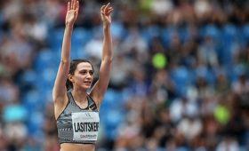 Прыгунья ввысоту Ласицкене выиграла 16-йтурнир подряд