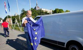 Хорватия начала процесс вступления в еврозону