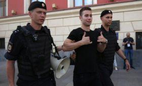 На митинге в Москве задержали больше тысячи человек