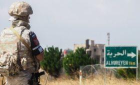 Российские военные сообщили о подрыве бомбы на пути их патруля в Сирии