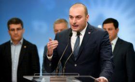 Премьер Грузии счел мат в адрес Путина провокацией Саакашвили
