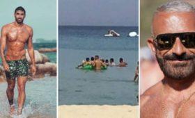 Дисквалифицированный пловец спас гея-молодожена, упавшего снадувного лебедя