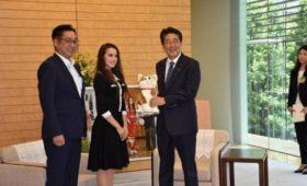 Премьер Японии встретился сАлиной Загитовой