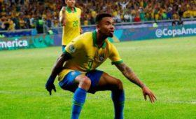 Сборная Бразилии вдевятый развистории выиграла Кубок Америки