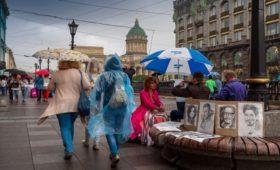 Из-за плохой погоды продажи дождевиков и плащей выросли на 700%