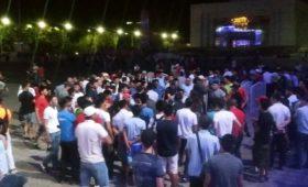 Милиция в Бишкеке разогнала акцию в поддержку Атамбаева