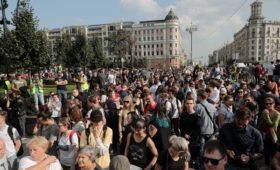 Первая за лето акция оппозиции в Москве без задержаний. Главное