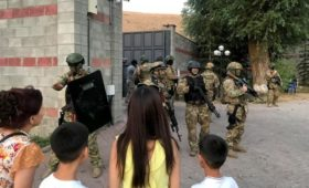 Спецоперация по задержанию экс-президента Киргизии Атамбаева. Главное