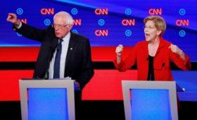 Демократическая партия США в спорах ищет соперника Трампу