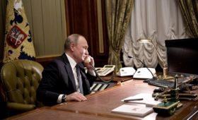 Кремль изложил слова Путина в разговоре с Зеленским