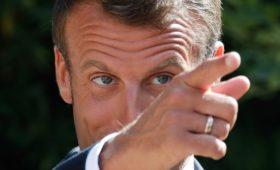 Макрон назвал темы переговоров с Путиным