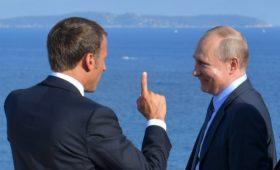 Макрон по-русски написал о «глубоко европейской» России