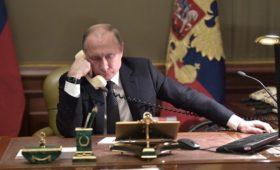 В Кремле заявили о начале диалога Путина и Зеленского
