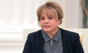 Памфилова выступила за изменение правил выборов в Мосгордуму