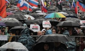 Волонтеры назвали итоговые данные о численности акции в центре Москвы