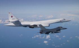 ВВС Бельгии заявили о перехвате российских Ту-160 над Балтикой