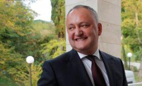 Додон сообщил о полученной от России скидке на газ для Молдавии