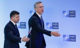 Столтенберг сообщил об обсуждении с Зеленским вступления Украины в НАТО