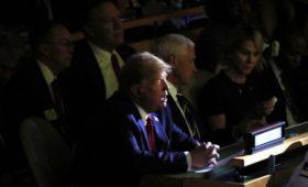 Трамп в ООН назвал условие разморозки финансовой помощи Украине