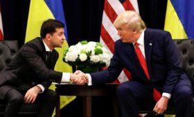 Зеленский заявил об обещании Трампа помочь ему вернуть Крым