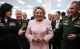 Матвиенко переизбрали главой Совета Федерации