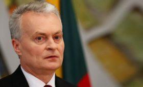 Президент Литвы заявил о разногласиях в ЕС по санкциям против России