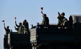 В России начались учения с участием 130 тыс. военных